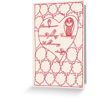 Valentines_Day_bird_card Greeting Card