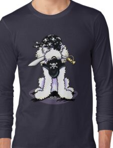 Poodle Pirate Long Sleeve T-Shirt