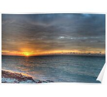 Sunrise over Yamacraw in Nassau, The Bahamas Poster