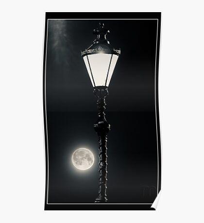 Victorian Moonlight Poster