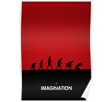 99 steps of progress - Imagination Poster
