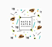Hats & Cats & Avocados Unisex T-Shirt