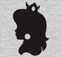 Princess Peach Silhouette by Luc Kersten