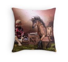 MATTHEW IV Throw Pillow