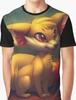 Fire Starter Pokemon Fan Art - Fennekin Graphic T-Shirt
