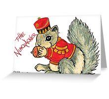 2013 Holiday ATC 22 - The Nutcracker Squirrel Greeting Card