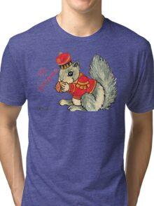 2013 Holiday ATC 22 - The Nutcracker Squirrel Tri-blend T-Shirt