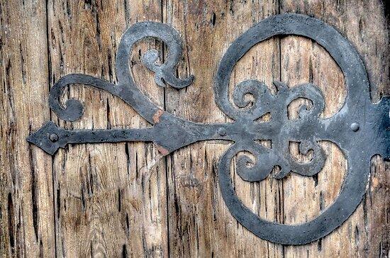 Antique door Hardware in Nassau, The Bahamas by 242Digital