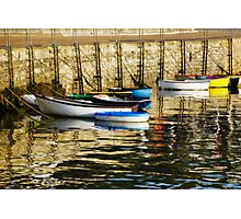 Row-Boats ~ Ready And Waiting  Photographic Print