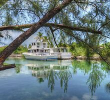 Peaceful River Scenery in Nassau, The Bahamas by 242Digital