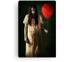 One Red Balloon 03 Canvas Print