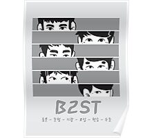 B2ST Fiction Chibi Poster