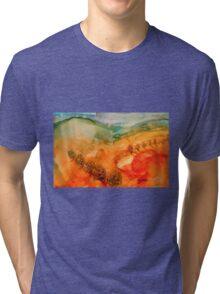 Hills of Sicily Tri-blend T-Shirt