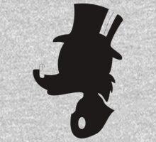 Scrooge McDuck Silhouette by Luc Kersten