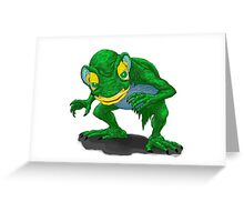 Gollum is here! Greeting Card