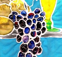 It's all gone a bit grapes and Sorrento lemons! by Tilly Campbell-Allen
