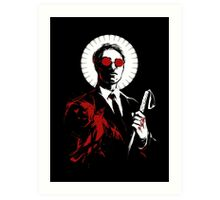 St. Matthew and the Devil Inside Art Print