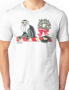 2013 Holiday ATC 18 - Holiday Monkey Unisex T-Shirt