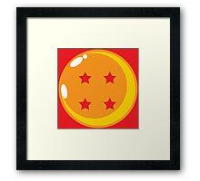 Dragon Ball Four Framed Print