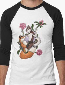 Canine Lover Men's Baseball ¾ T-Shirt