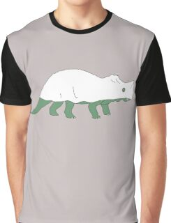 Ghost Triceratops Graphic T-Shirt