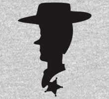 Sheriff Woody Silhouette by Luc Kersten