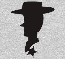 Sheriff Woody Silhouette by Luc Kersten
