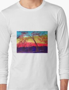 Pink blossoms Tree Long Sleeve T-Shirt
