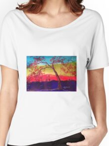 Pink blossoms Tree Women's Relaxed Fit T-Shirt