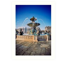 Paris 542 Art Print