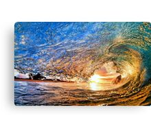 Colour of Waves Canvas Print