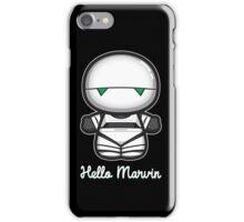 Hello Marvin iPhone Case/Skin