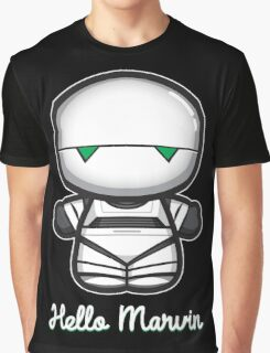 Hello Marvin Graphic T-Shirt