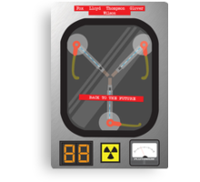 The Flux Capacitor Canvas Print