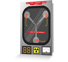 The Flux Capacitor Greeting Card