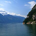Mouth of Lake Garda by mpstone