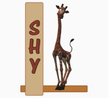Shy Olympia The Giraffe by Kay Patterson