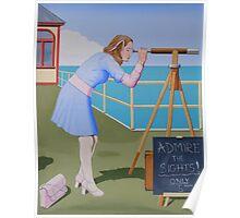 Seaside Delight Poster