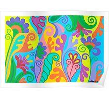 FANTASY FLOWERS 03 Poster