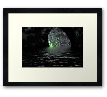 SPACE FANTASY Framed Print