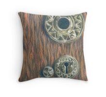 Vikingsholm Keyhole Throw Pillow