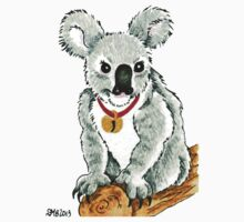 2013 Holiday ATC 13 - Koala with Sleigh Bell Kids Tee
