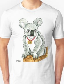 2013 Holiday ATC 13 - Koala with Sleigh Bell Unisex T-Shirt