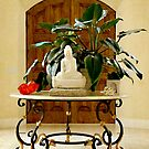 Buddha and Foyer by Anne  McGinn