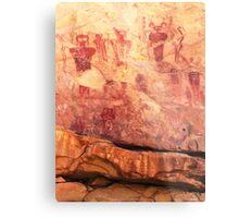 Sego Canyon Pictographs Metal Print