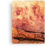 Sego Canyon Pictographs Canvas Print