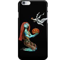 Sally and Zero iPhone Case/Skin
