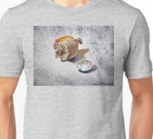 Sea Shell on a Rock Unisex T-Shirt