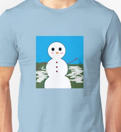Mr. snowman Unisex T-Shirt