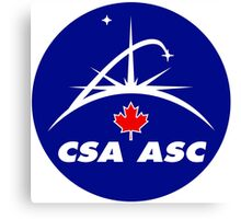 Canadian Space Agency Canvas Print